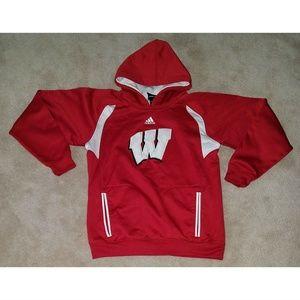 🌷 Adidas University Wisconsin Badgers Sweatshirt